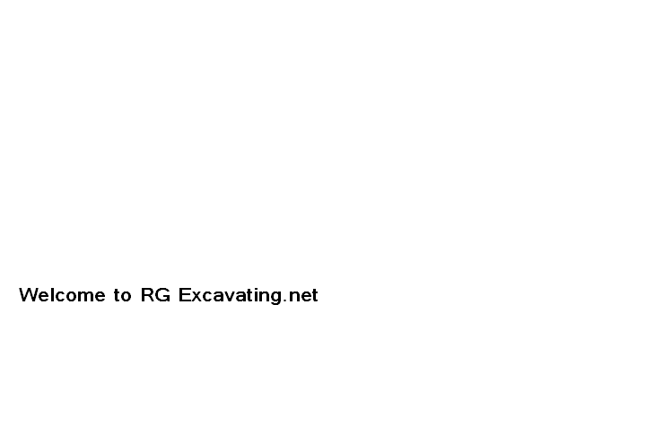 Welcome to RG Excavating.net
